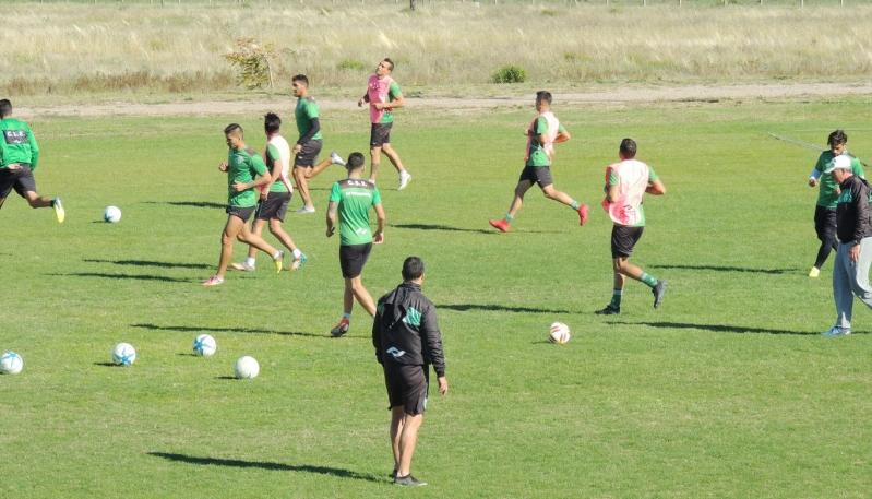 Sportivo Estudiantes se prepara en el Campus ULP para jugar ante San Lorenzo