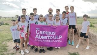 El equipo de mini atletismo cerró el año con un encuentro deportivo