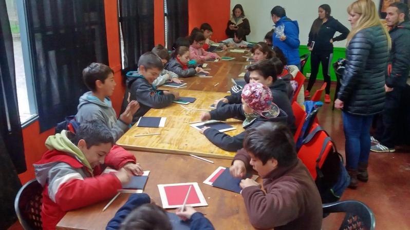 Chicos de Juana Koslay vivieron una jornada a pura ciencia con la ULP