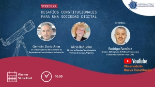 """La ministra Bañuelos participará del evento online """"Desafíos Constitucionales para una Nueva Sociedad Digital"""""""