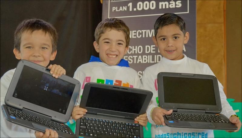 Este año, 95 mil chicos sanluiseños estarán incluidos digitalmente