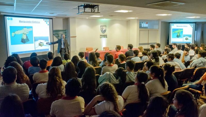 """""""En San Luis hay gente muy motivada y con mucha iniciativa en materia de robótica"""""""