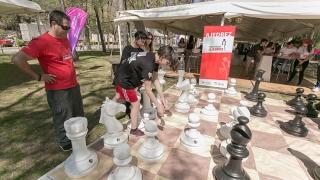 Este domingo, vecinos y turistas disfrutarán del ajedrez en El Trapiche