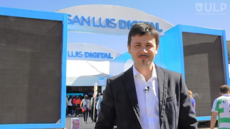 """Santiago do Rego: """"San Luis Digital es la mejor feria de tecnología del país"""""""