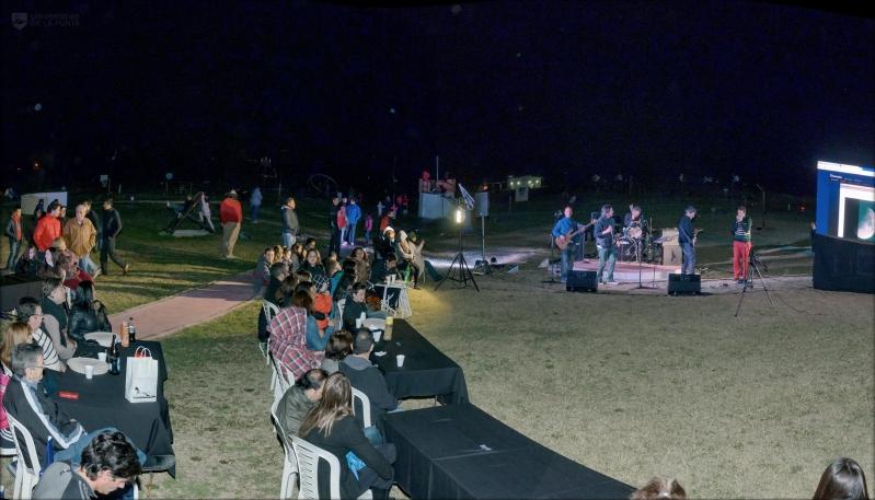 Música y astronomía en una noche pensada para los alumnos de la ULP