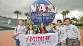 Los Mini Programadores visitaron el centro espacial John F. Kennedy