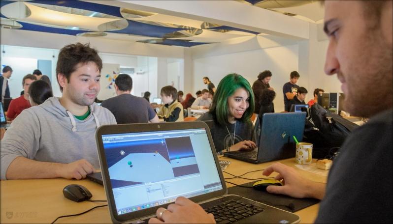 El ingenio tecnológico puso primera en el campus de la ULP