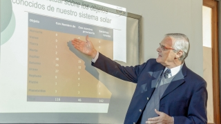 Hugo Levato brindó una disertación para alumnos de la ULP