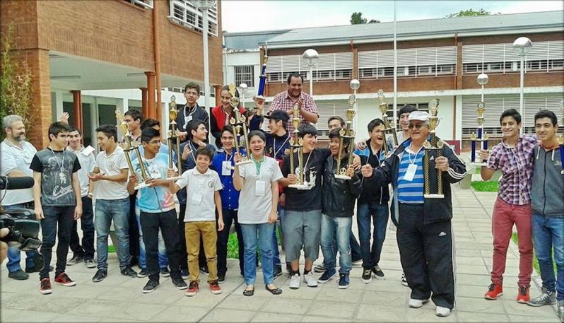 La EPD Albert Einstein se consagró campeona nacional en el torneo de escuelas secundarias