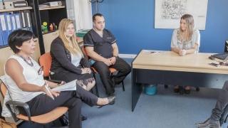 Licenciatura en Enfermería: reunión informativa con los responsables de enfermería de los hospitales