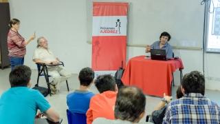 El Gran Maestro García Palermo compartió su experiencia  ajedrecística en la ULP