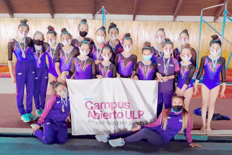 Gimnastas del Campus ULP sobresalieron en Mendoza