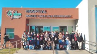 ULP Virtual: estudiantes de Enfermería realizan sus prácticas