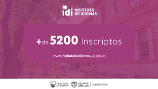 Con más de 5200 inscriptos en toda la provincia arrancan las clases en el Instituto de Idiomas