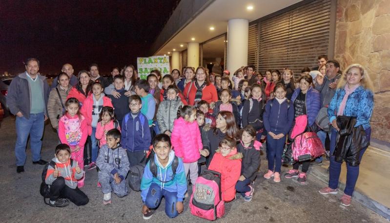 Alumnos de 10 parajes viajaron a Buenos Aires para disfrutar del Teatro Colón