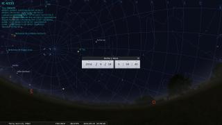 Disfrutá el cielo nocturno desde tu computadora