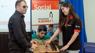 Ajedrecistas ciegos y disminuidos visuales ya disputan  el Gran Prix ACUA en la ULP
