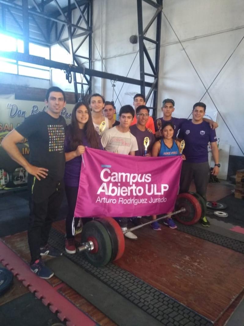 Siete podios para el equipo de Levantamiento Olímpico del Campus