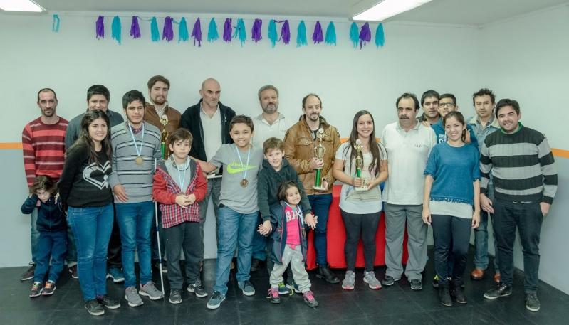 """En un clima de integración y compañerismo, culminó el """"Gran Prix Puntano de Ajedrez a Ciegas"""""""