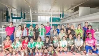 El fútbol femenino de Estudiantes pasó por las evaluaciones del Campus