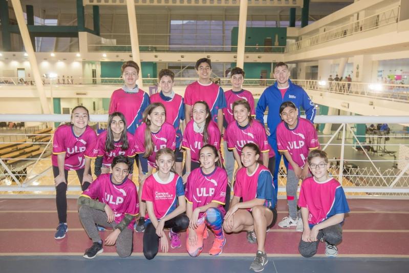 Atletismo: clasificaron siete deportistas del Campus ULP