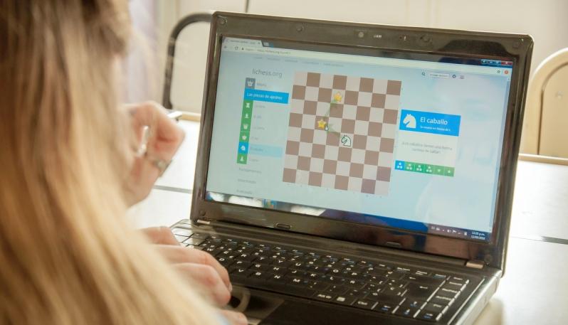 """Ajedrez Digital """"Yo juego desde casa"""""""