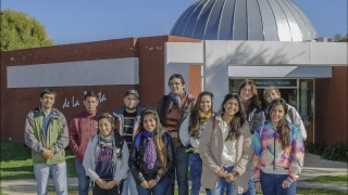 De Santa Rosa del Conlara a la ULP  para vivir una jornada a pura ciencia