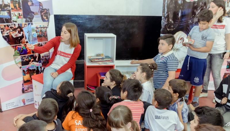 La ULP ya suma más de 500 espacios de lectura en toda la provincia