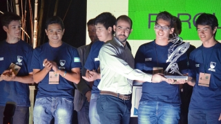 Los subcampeones de la Robocup 2016 recibieron el Premio CIDI a la Innovación