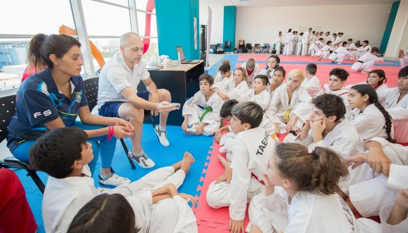 Finalizó la clínica de entrenamiento de los talentos nacionales de taekwondo en el Campus
