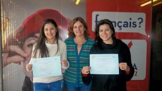 Estudiantes de francés rindieron un nuevo examen internacional