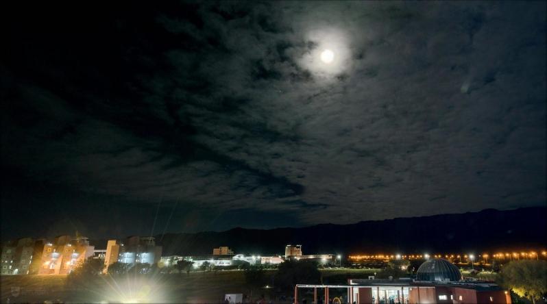 La ULP realizará la primera medición de contaminación lumínica de San Luis