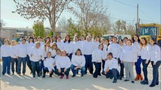 Alumnos del PIE y del 20/30 homenajearon a San Martín en Justo Daract