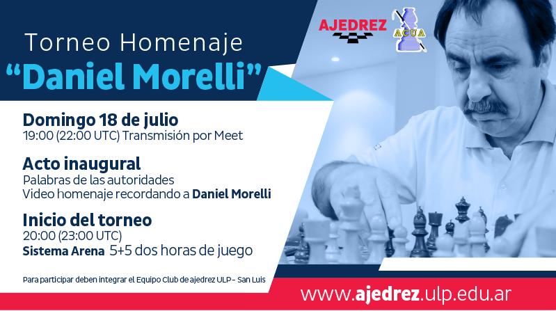 Este domingo se realizará un Torneo Homenaje en memoria de Daniel Morelli