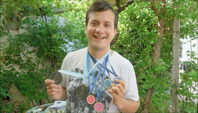 Timoteo Herrera, el campeón de Olimpíadas  que hoy crece en el Balseiro