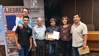 Pablo Acosta logró el primer puesto en el IV Abierto de Montevideo en Uruguay