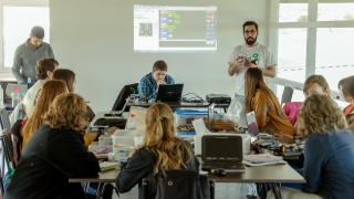 San Luis Modelo: la ULP capacitó en robótica a docentes de La Pampa