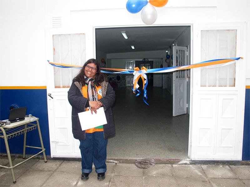 Estancia Grande: Pusieron en valor el edificio de la Escuela Pública Digital