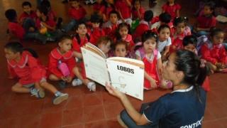 520 niños de Villa Mercedes intercambiaron experiencias con Contextos