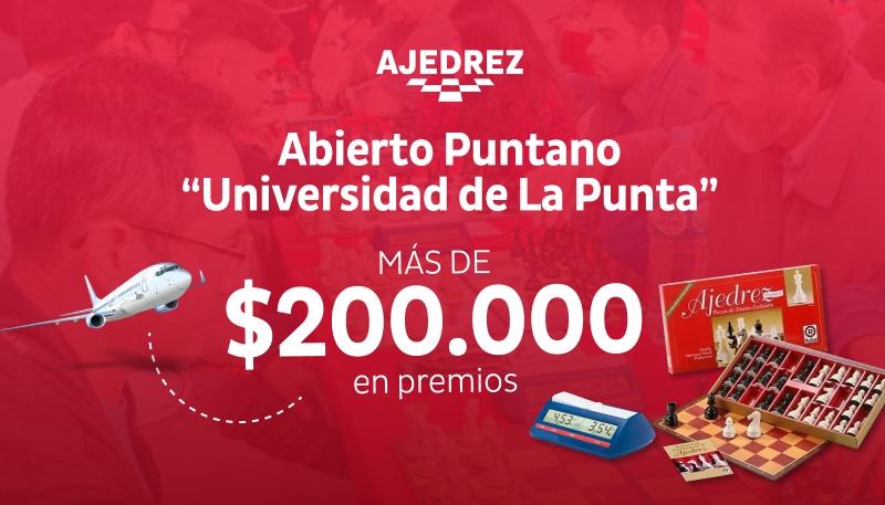 """Ajedrez ULP cierra el año con el ABIERTO PUNTANO""""Universidad de La Punta"""""""