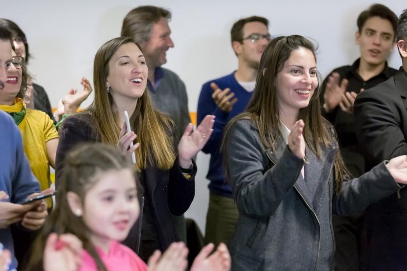 Catalfamo y Mazzina visitaron la Escuela de Música de la ULP