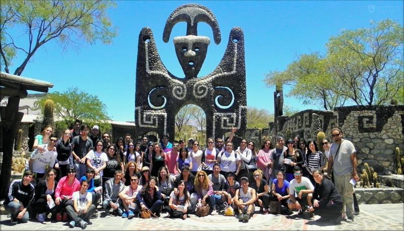Alumnos de Turismo de la ULP vivieron un viaje único en el norte argentino