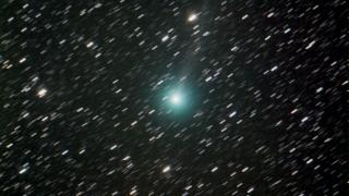 Un cometa a la vista en el telescopio remoto del PALP