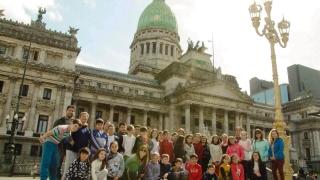 El Congreso de la Nación impactó a los  alumnos de la Rosenda Quiroga de La Punta