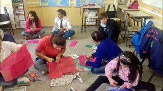 Chicos del norte provincial disfrutaron de los talleres de Arte y Juego
