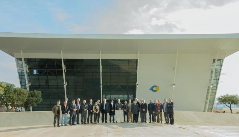 """Ministros de todo el país conocieron el Campus Abierto ULP """"Arturo Rodríguez Jurado"""""""