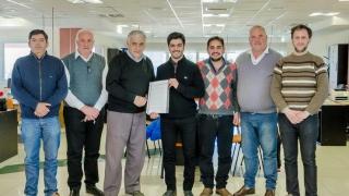 La ULP firmó un convenio con el automóvil Club Villa Mercedes