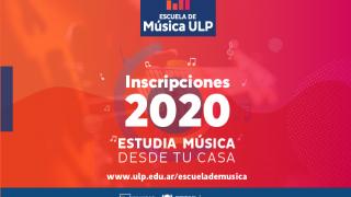 En solo 3 días más de 200 personas se inscribieron en la Escuela de Música de la ULP