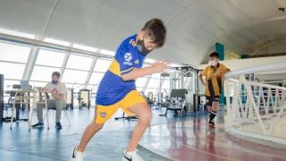 Jugadores de Eva Fútbol Club fueron evaluados en el laboratorio de biomecánica