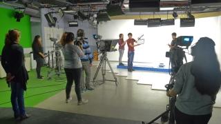 Crecer en la práctica, la clave de los jóvenes cineastas de la ULP